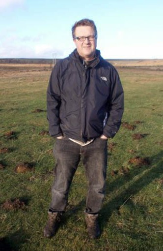 Photo of Peter Naldrett, who guest presents audio walks on the Walks Around Britain podcast
